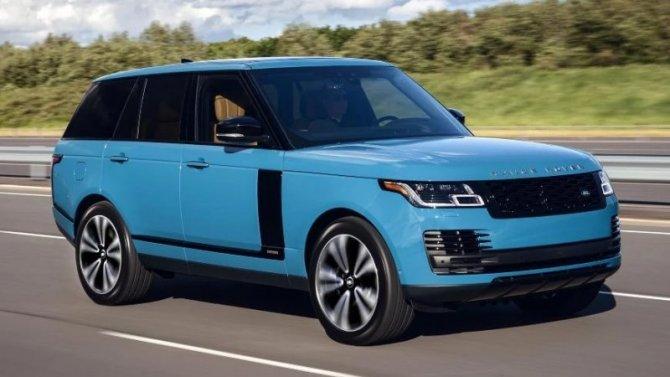 В России будут продавать юбилейную версию Range Rover