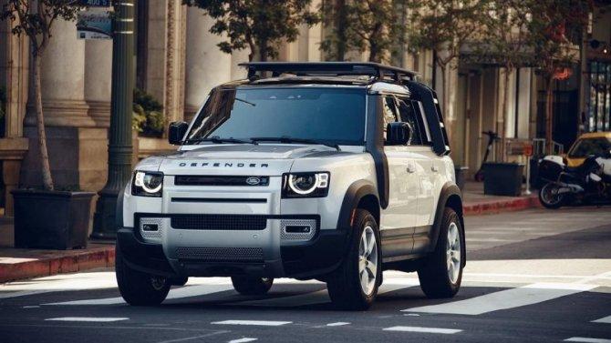 Land Rover Defender: back in USA!