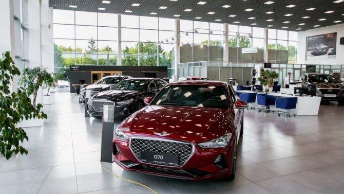 В Москве возобновили работу дилеры Hyundai и Genesis