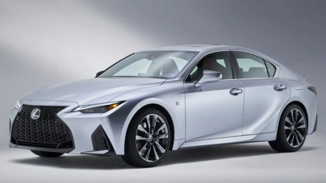 Завтра будет представлен новый Lexus IS