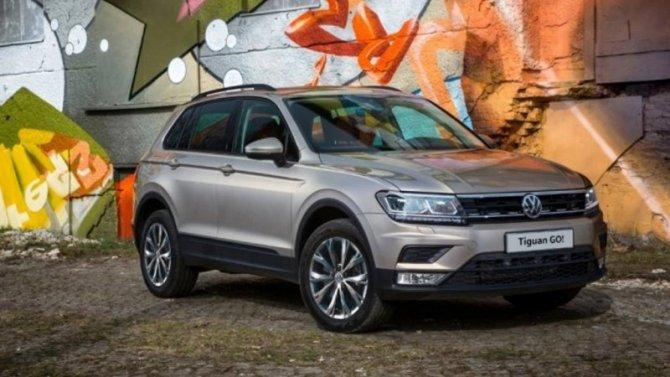 ВРоссии появилась новая версия кроссовера Volkswagen Tiguan