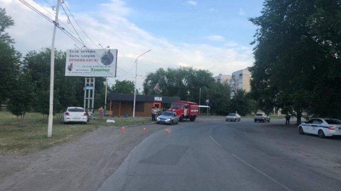 8-летний ребенок пострадал в ДТП в Ростовской области