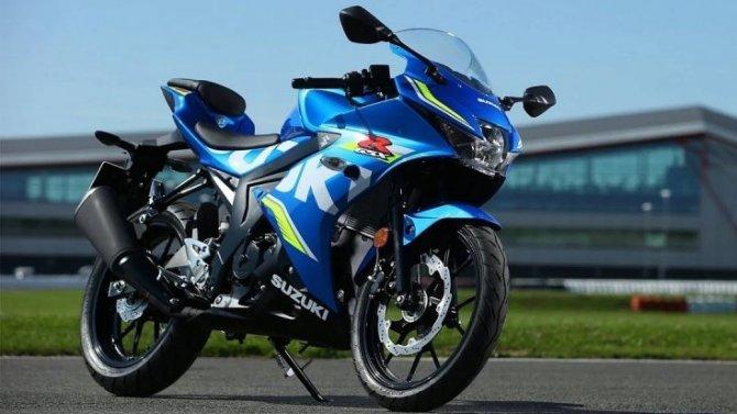 Начались продажи нового спортбайка Suzuki