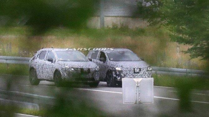 Начались испытания обновлённого Nissan Qashqai