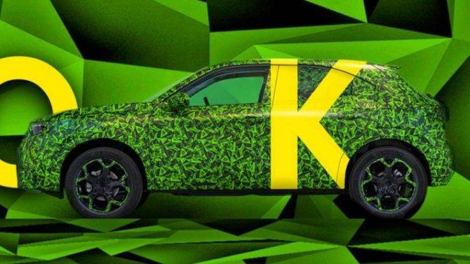 Новый Opel Mokka станет пионером нового дизайна фирмы