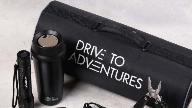 Lexus привёз вРоссию коллекцию фирменных аксессуаров