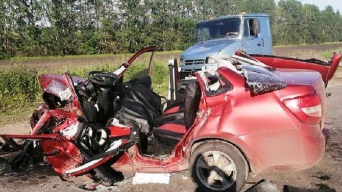 Два человека погибли в ДТП в Пензенской области