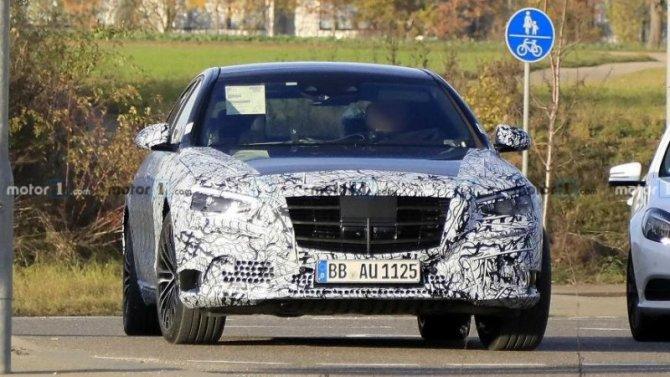 Известен срок премьеры нового Mercedes-Benz S-Кlassе