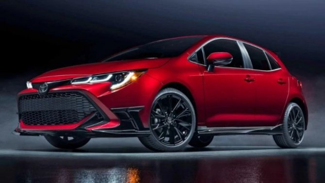 Хэтчбек Toyota Corolla получил новую версию исполнения