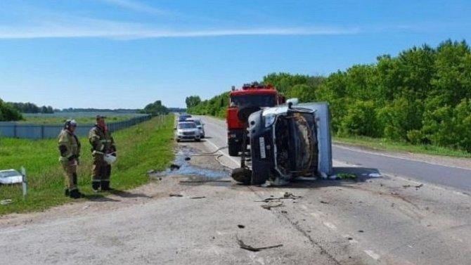 Водитель «Газели» погиб в ДТП в Новосибирской области