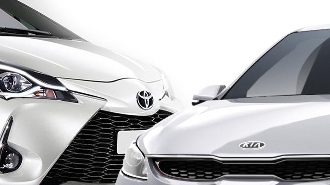 Вэтом году вРоссии покупатели автомобилей больше всего потратили наKIA иToyota