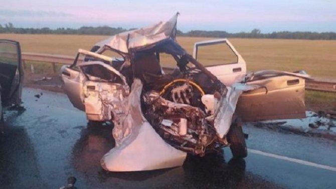 Водитель ВАЗа погиб в ДТП в Бузулукском районе
