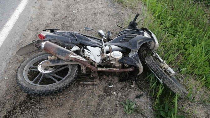 Пассажирка скутера погибла в ДТП в Сокольском районе