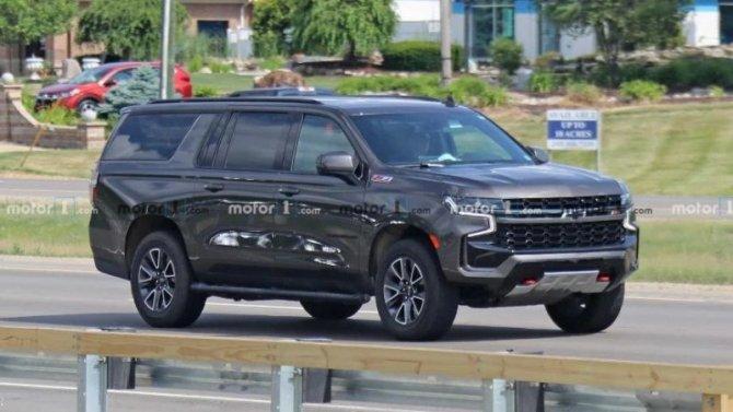 Внедорожная версия Chevrolet Suburban лишилась камуфляжа