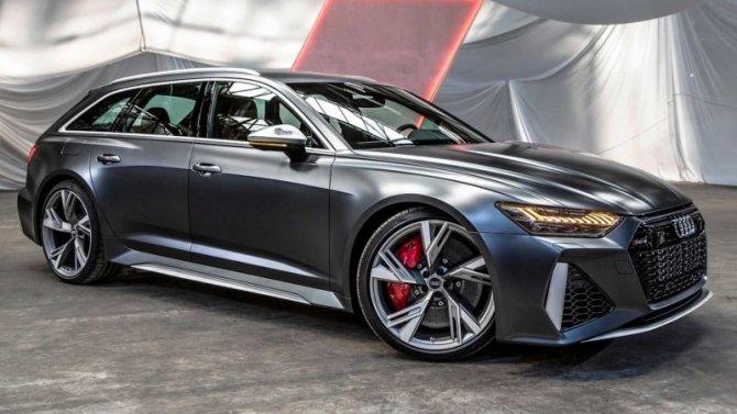 Стали известны цены нановый Audi RS6 Avant