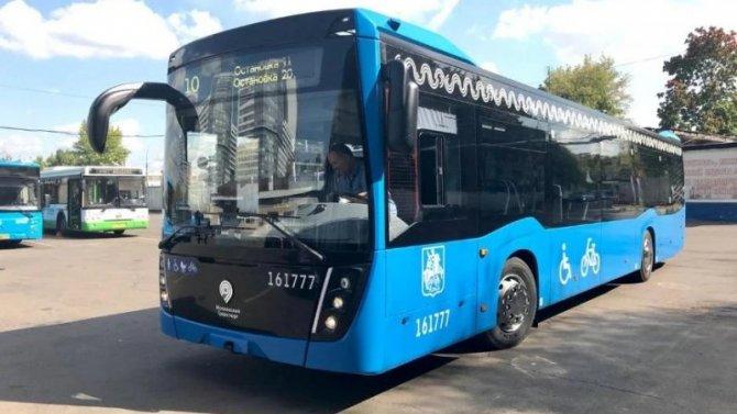 ВМоскве появилось 100 новых электробусов