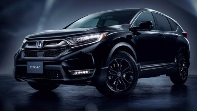 Обновлён кроссовер Honda CR-V