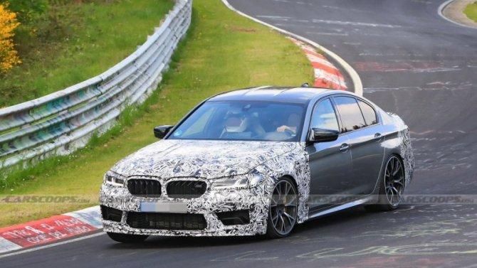 BMW M5 CS: что будет под капотом