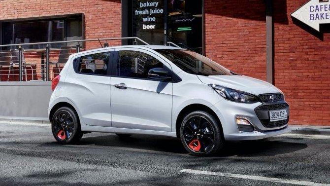 Обновлён хэтчбек Chevrolet Spark