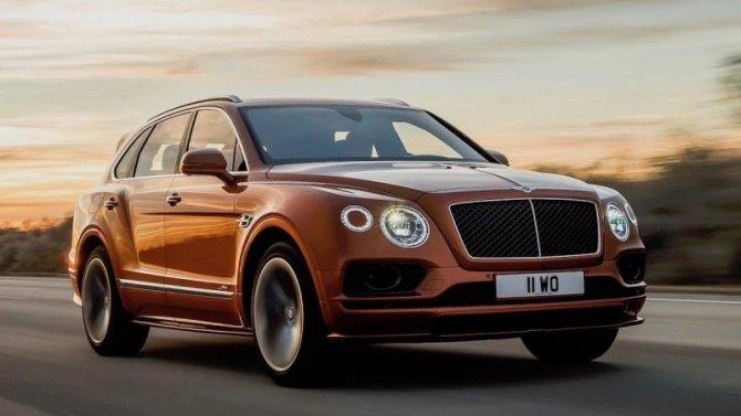 Объявлен глобальный отзыв кроссоверов Bentley Bentayga