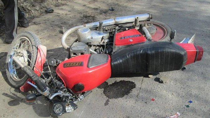Пьяный 17-летний мотоциклист разбился в Новосибирской области