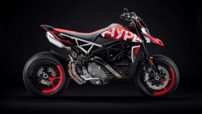 Представлен обновлённый Ducati Hypermotard