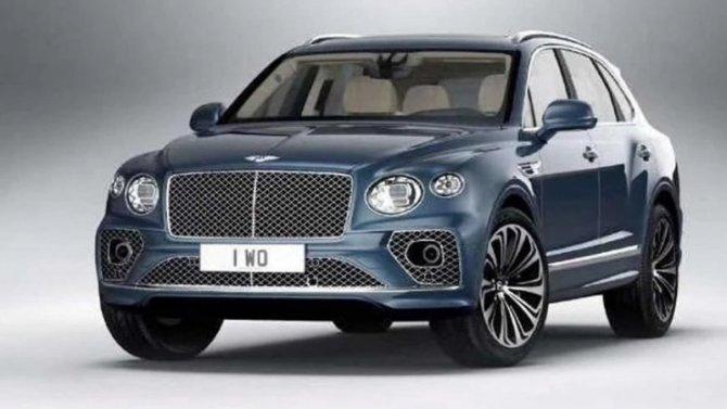 Обновлённый Bentley Bentayga: появились подробности