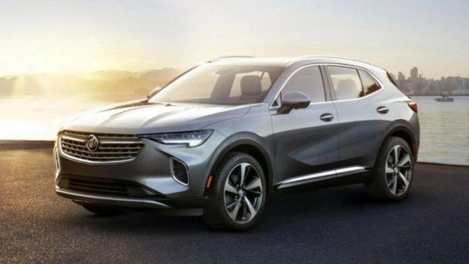 Кроссовер Buick Envision: проведена смена поколения