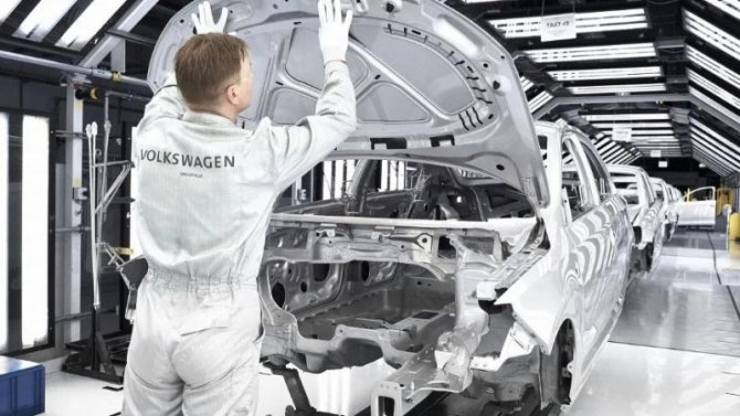 Накалужском заводе Volkswagen повысят зарплаты