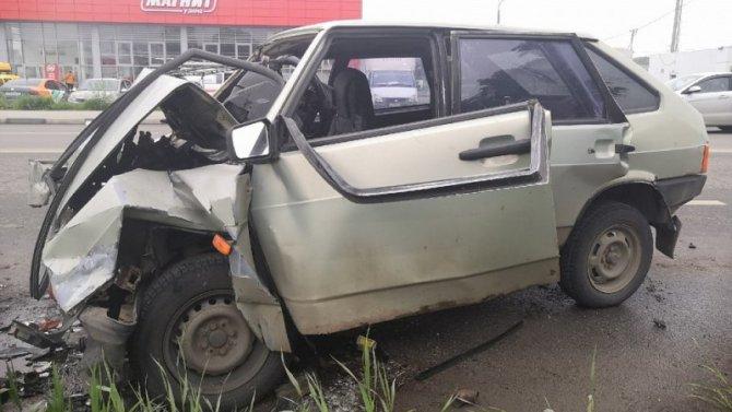 Три человека пострадали в ДТП в Туле