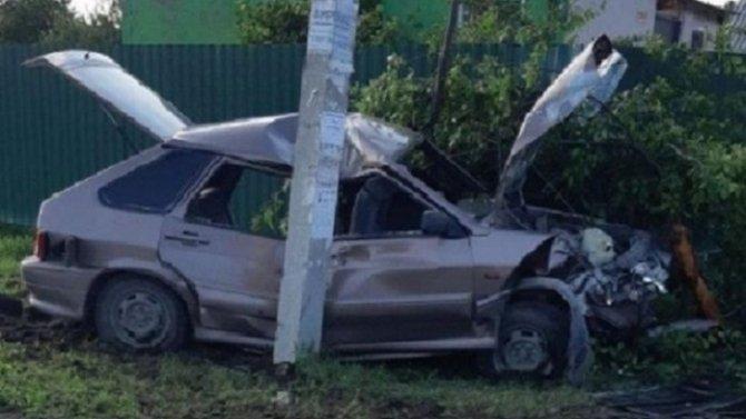 Подросток погиб в ДТП в Саратовской области