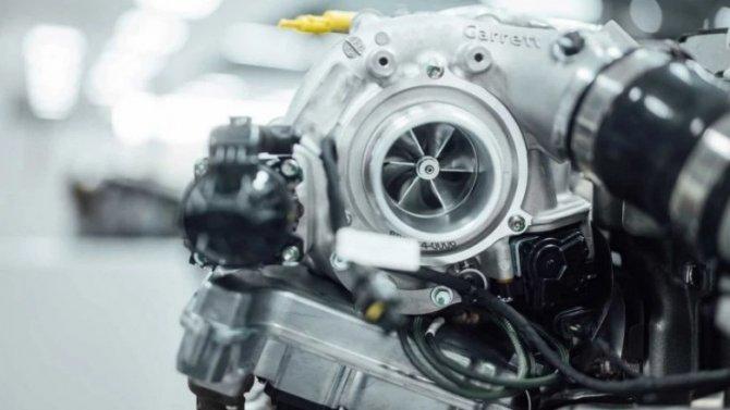 ВMercedes-AMG создали новый турбонагнетатель