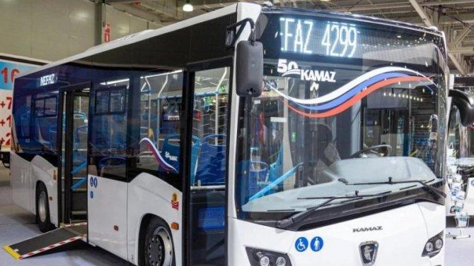 «КамАЗ» начал испытания нового автобуса