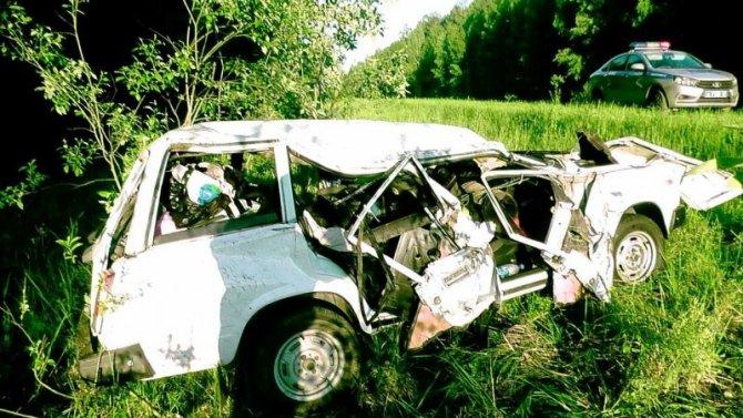 Женщина погибла в ДТП в Нижегородской области