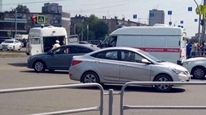 ДТП в Челябинске со Скорой помощью