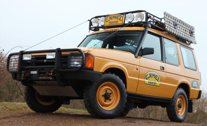 1 Land Rover Discovery I для Camel Trophy