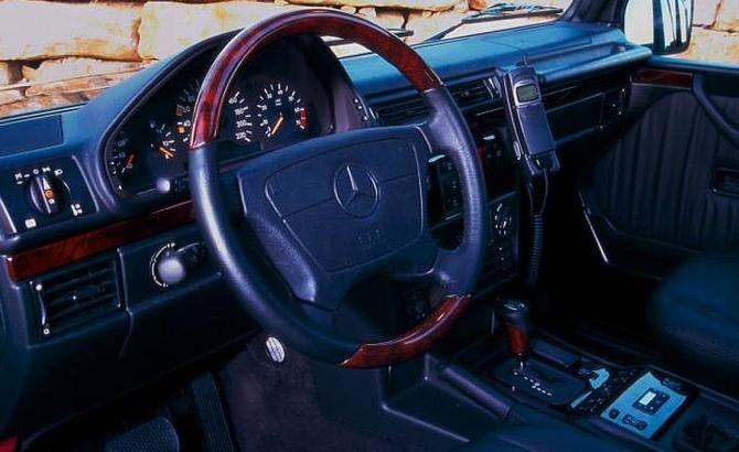4 Салон Mercedes-Benz G-Class 1990 года
