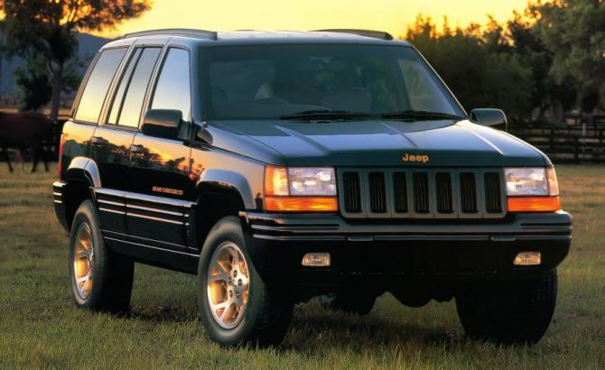 5 Jeep Grand Cherokee (ZJ) 1996 года