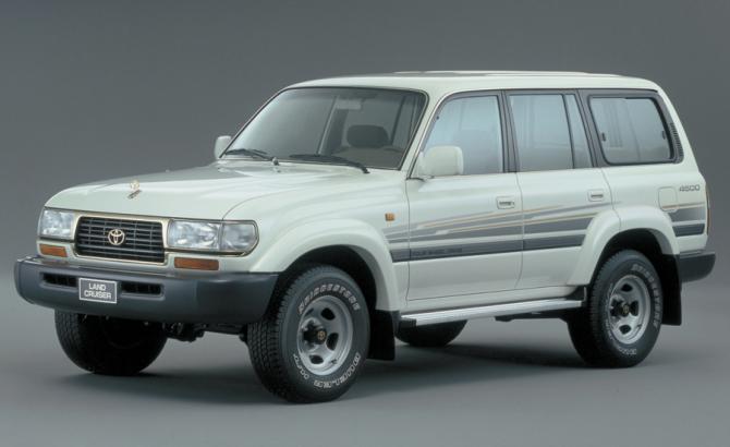 10 Toyota Land Cruiser 80 GX