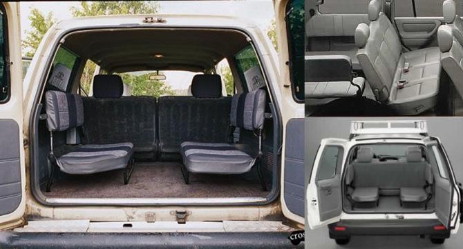 11 Боковые сидения в Toyota Land Cruiser