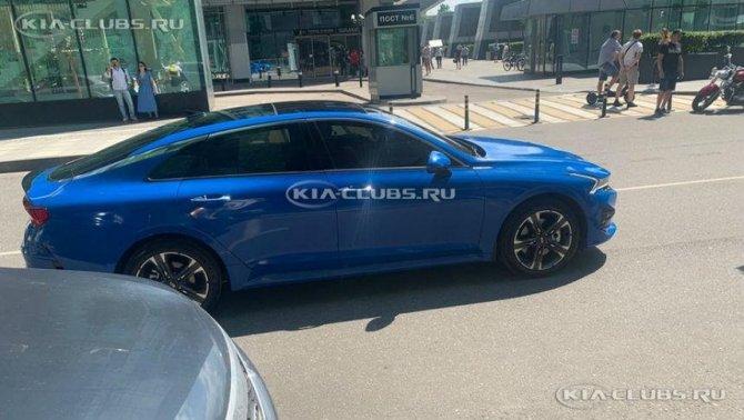 Kia K5 (бывшая Optima) 7