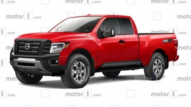 Новый Nissan Frontier: стало известно больше