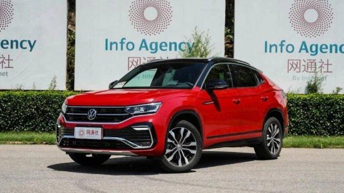 Начались продажи Volkswagen Tayron X