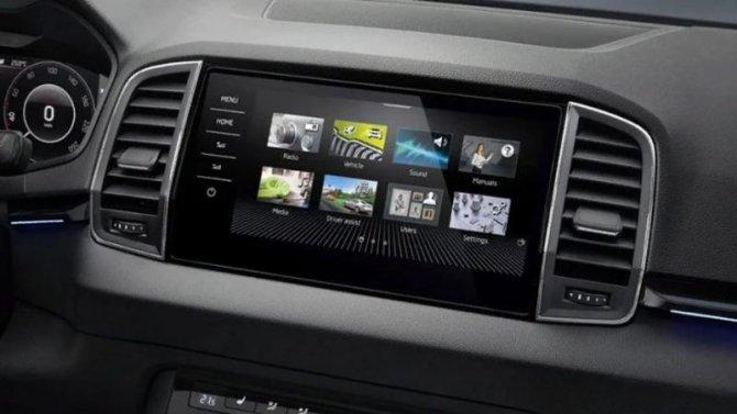 Три модели Skoda получили новые «мультимедийки»