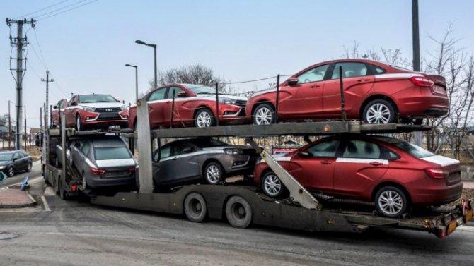 Существенно сократился экспорт автомобилей из России