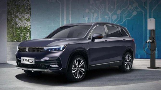 В Китае представлен совершенно новый электромобиль