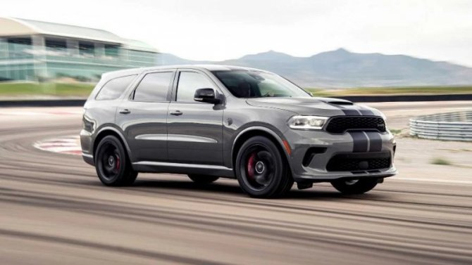 Dodge Durango Hellcat выйдет лимитированной партией