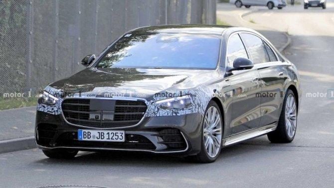 Новый Mercedes-Benz S-Кlassе готовится кпремьере
