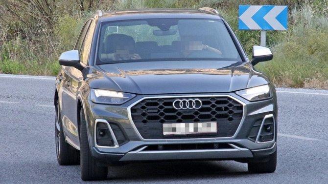 Стали известны данные рестайлингового Audi SQ5