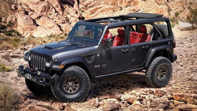 Jeep Wrangler может получить особо мощную модификацию